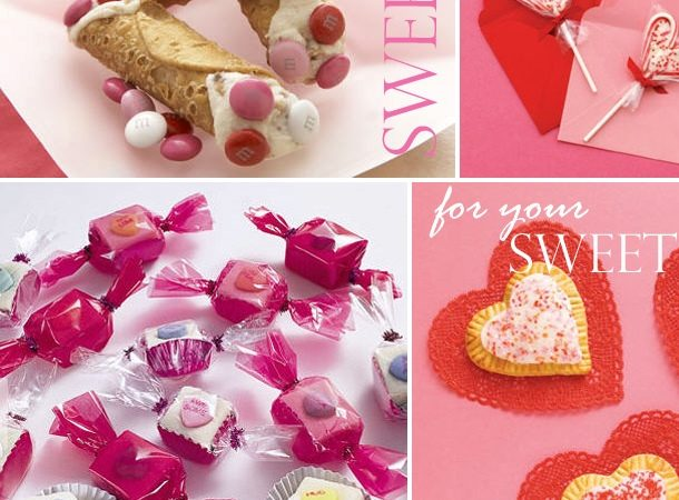 Sweet treats for valentines