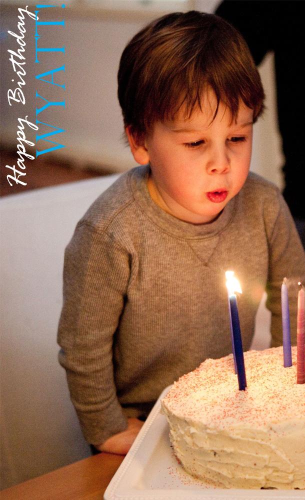 Birthday boy candles 2