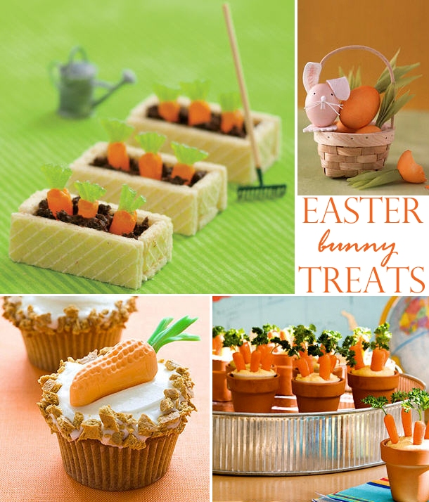 Creative carrot treats for the easter bunny
