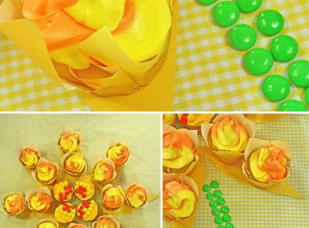 The celebration shoppe diy daisy flower cupcake cake1