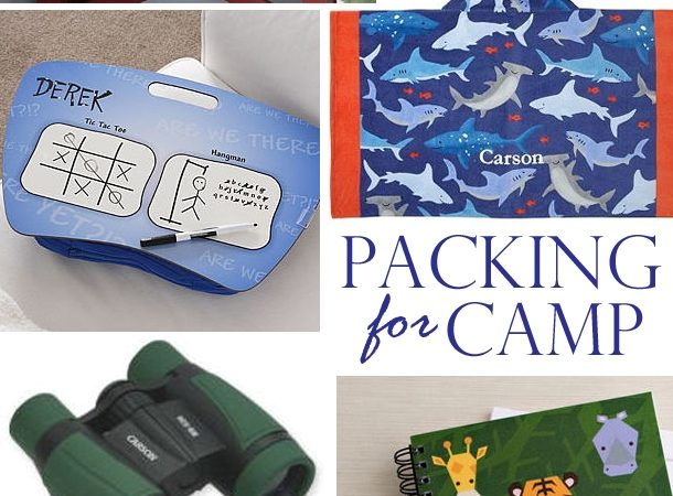 Summer camp packing must haves 11