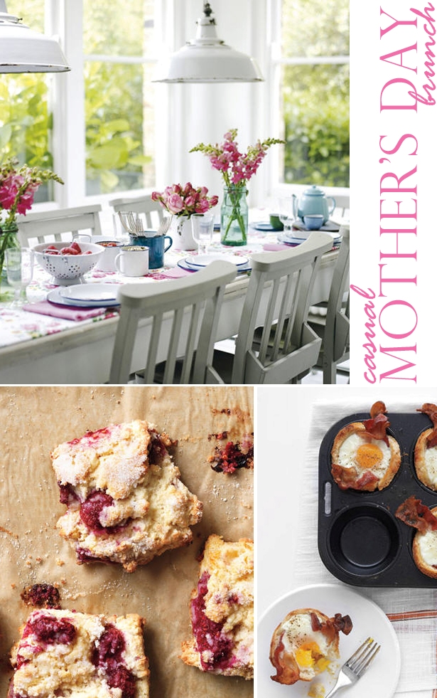 Easy casual mothers day brunch ideas