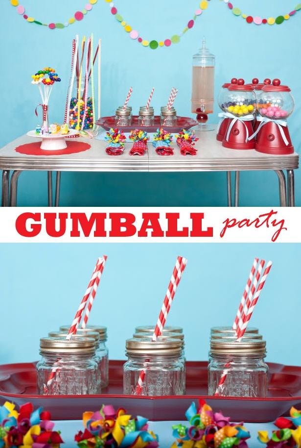 Karas party ideas gumball party for hgtv 1