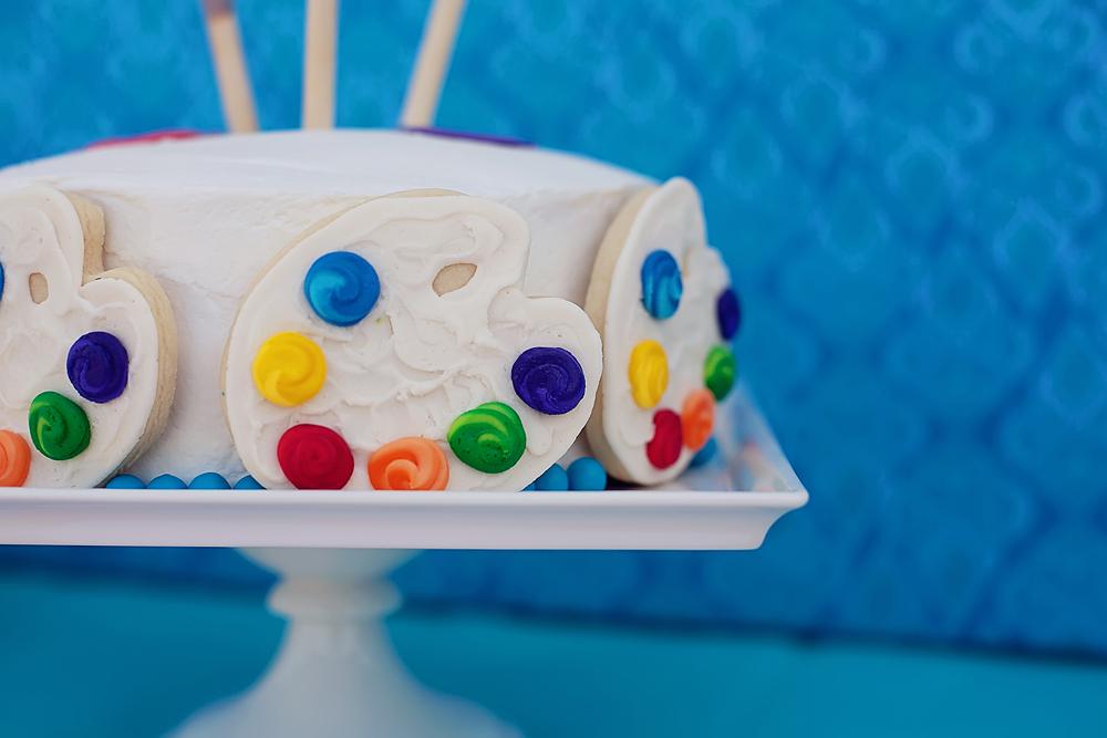 The celebration shoppe art party cake 5