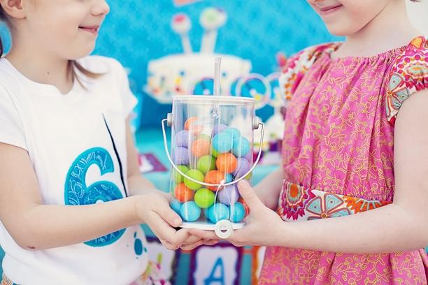 The celebration shoppe art party gumball paint balls wgirls