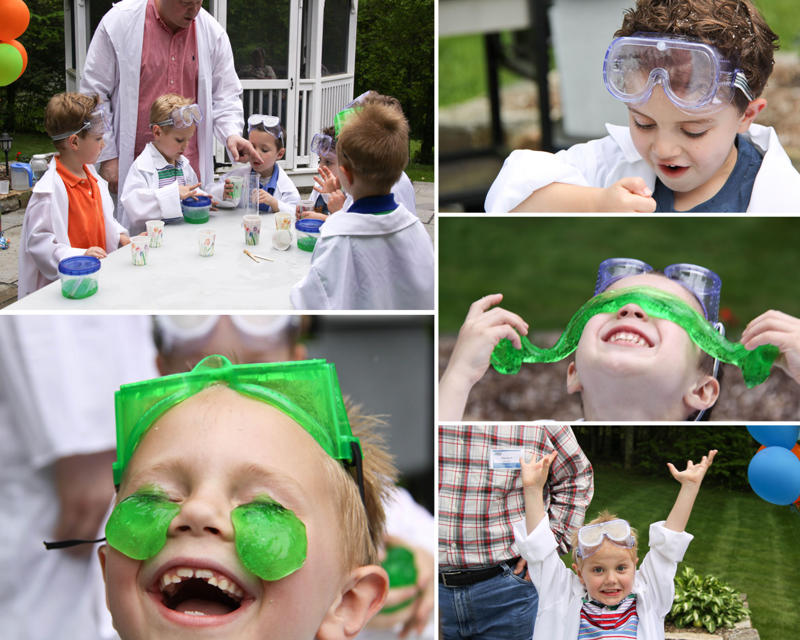 Mad scientist birthday party chilcote experiment 2