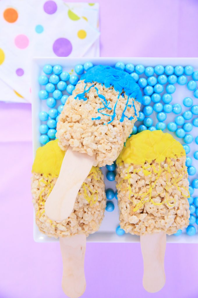 Paint Brush Rice Krispies