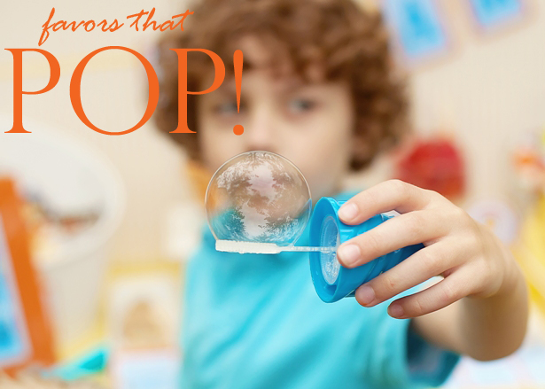 The celebration shoppe ice cream party bubble favors pop