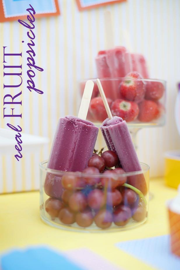 The celebration shoppe ice cream party fruit pops wt