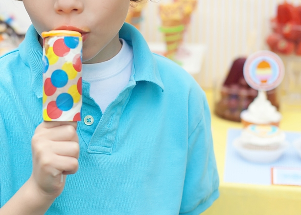 The celebration shoppe ice cream party push pop