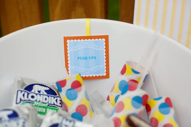 The celebration shoppe ice cream serving ideas