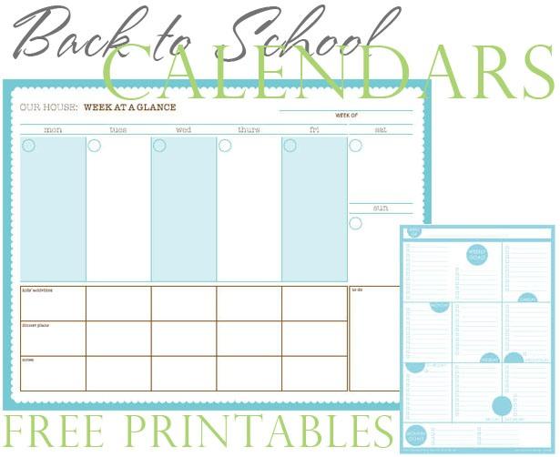 Free printable calendars 2