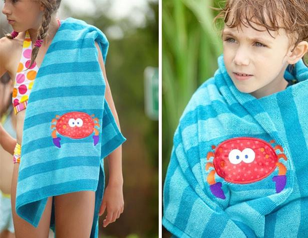 The celebration shoppe beach towel favor