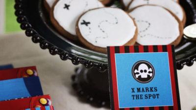 The celebration shoppe pirate x marks spot cookies vc