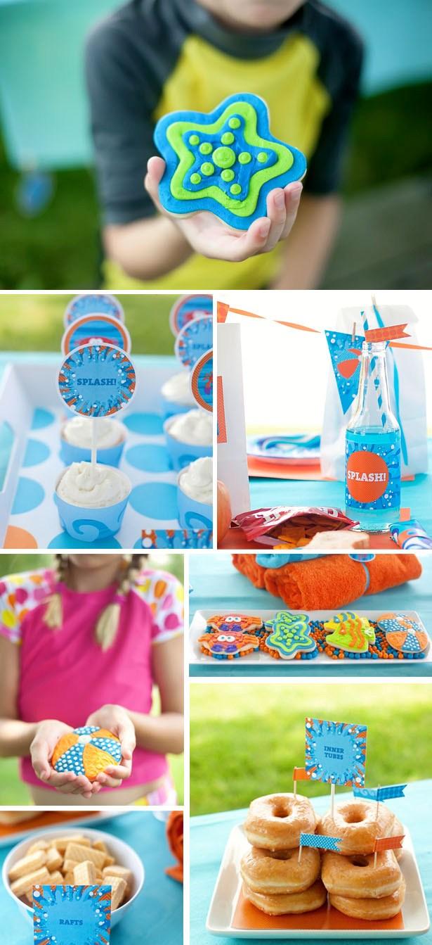 The celebration shoppe pool party treats