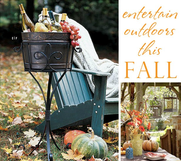 Willow house fall entertaining