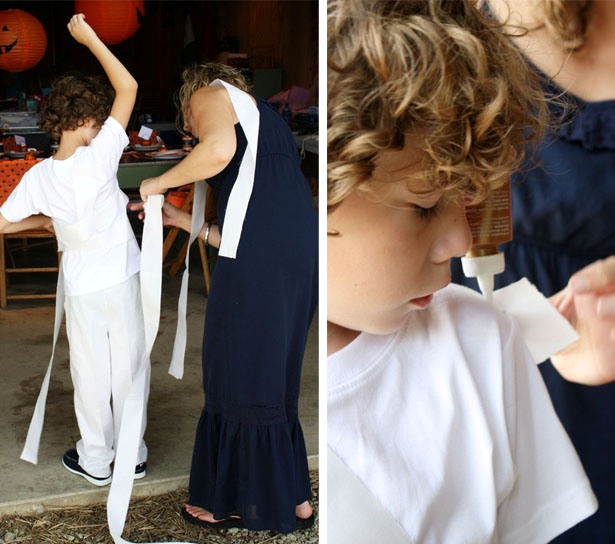 Diy mummy costume how to 1