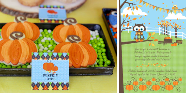 Pumpkin patch homepage