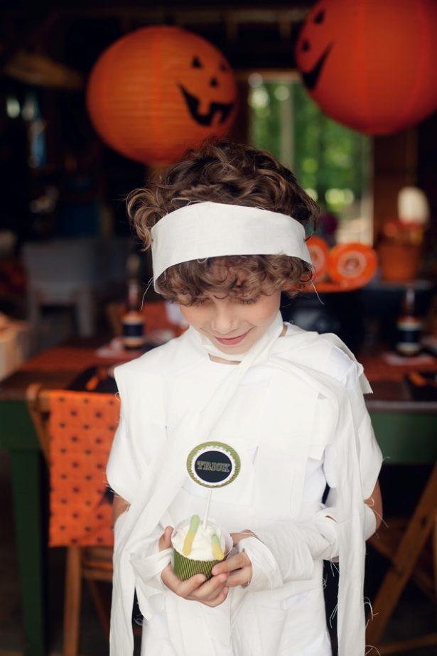 The celebration shoppe diy mummy costume 2