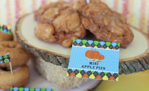 The celebration shoppe harvest apple fritters