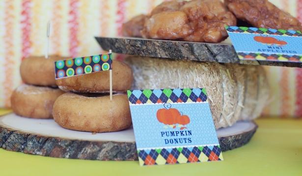 The celebration shoppe harvest diy wood serving platter