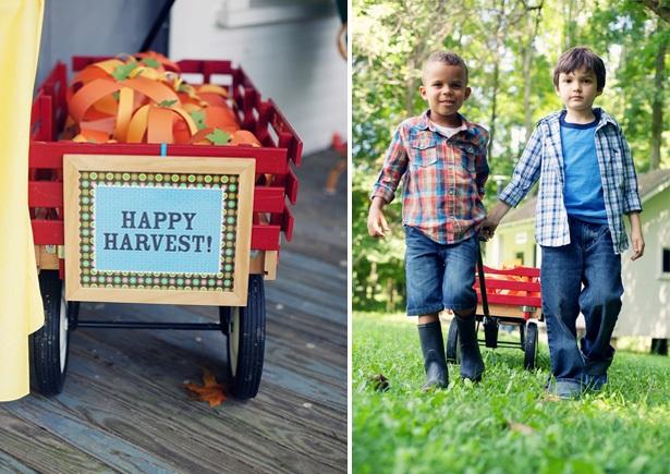 The celebration shoppe harvest sign boys