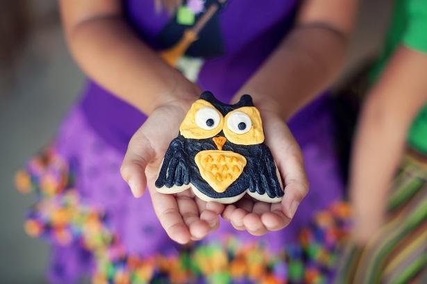 The celebration shoppe screech owl cookies