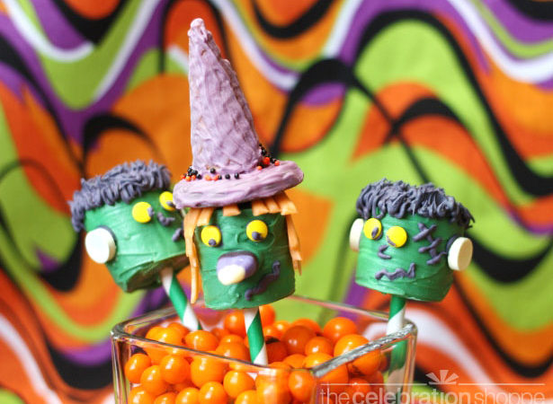 The celebration shoppe witch and frankenstein wl