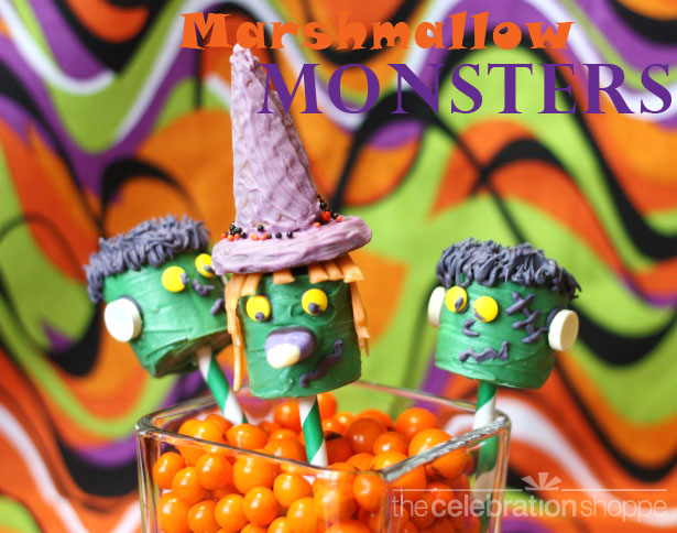 The celebration shoppe witch and frankenstein wt wl