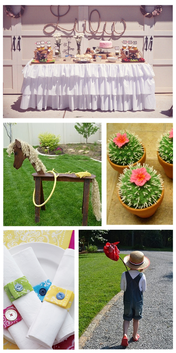 Wild west cowgirl birthday party ideas