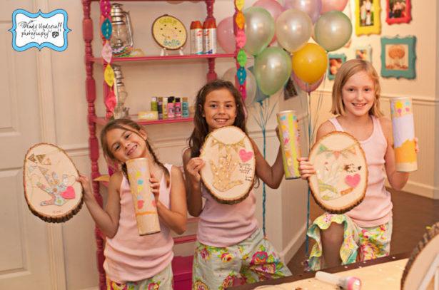 Camp birthday party activity ideas 2