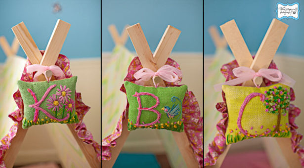 Camp birthday party favors