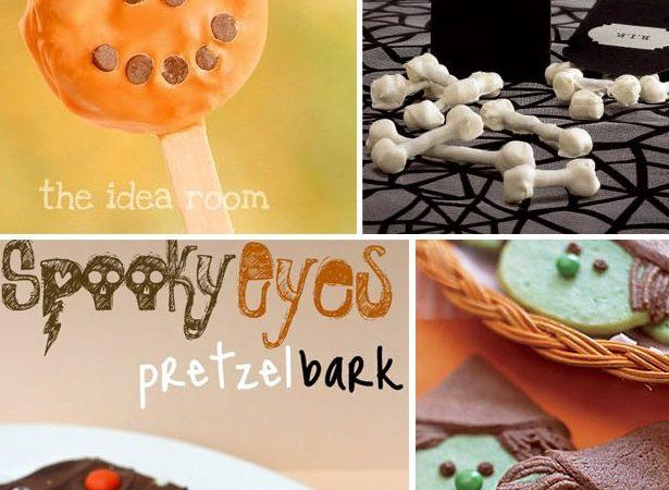 Halloween cookie candy ideas