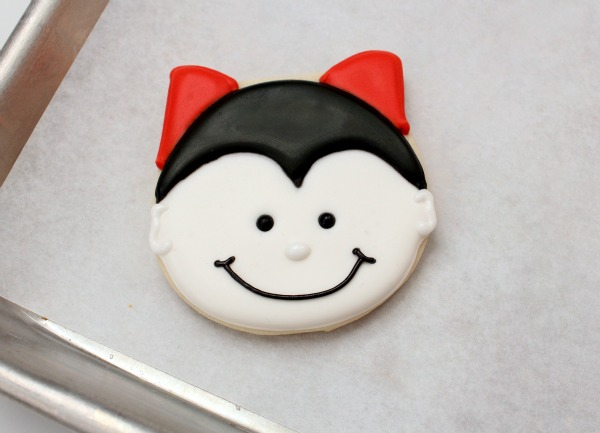 Learn how to decorate Dracula cookies | Kim Byers