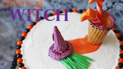 The celebration shoppe crashing witch halloween cake wl 3