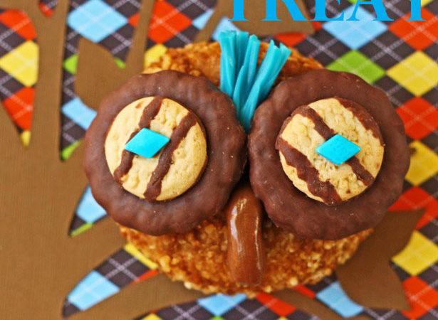 The celebration shoppe fall hoot owl donut treat