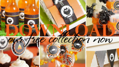 The celebration shoppe free candy corn halloween collection