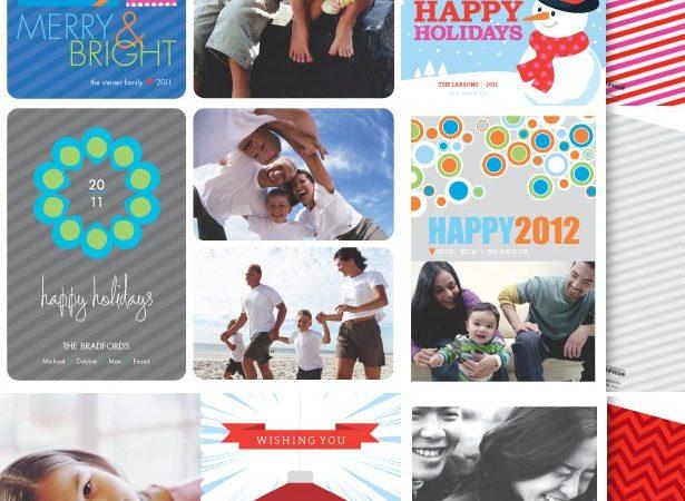 The celebration shoppe holilday photo cards 2011