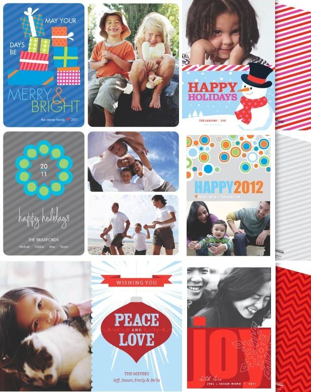 The celebration shoppe holilday photo cards 20111