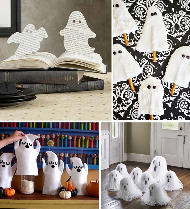 Ghostly halloween ideas
