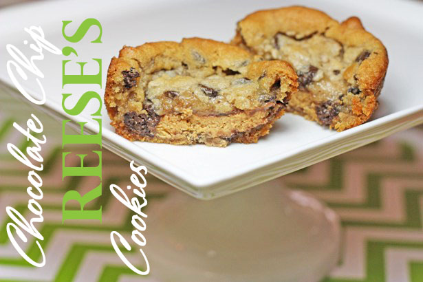 Chocolate chip reeses cup cookie wt 2
