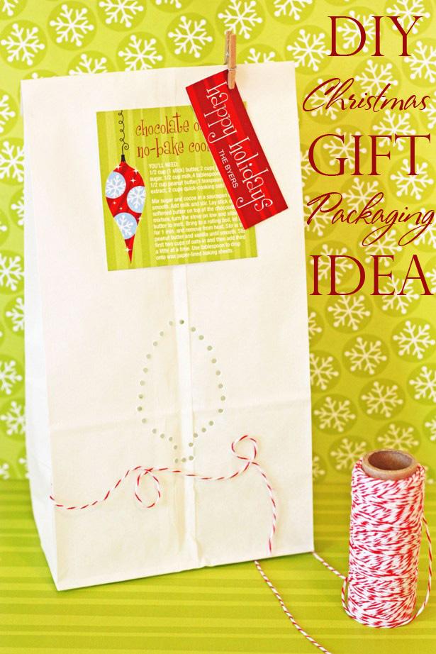 The celebration shoppe christmas light gift bag punch idea wt2