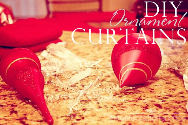 The celebration shoppe diy ornament curtain craft 1 wt