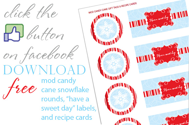 The celebration shoppe mod candy cane freebie