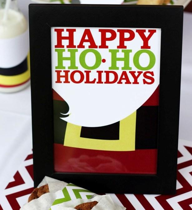 The celebration shoppe santa collection happy ho ho holidays mat 2