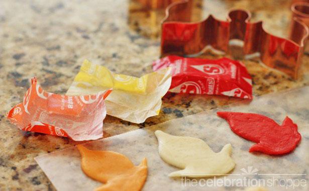 The celebration shoppe thanksgiving rice krispie turkey treats step 2 wl