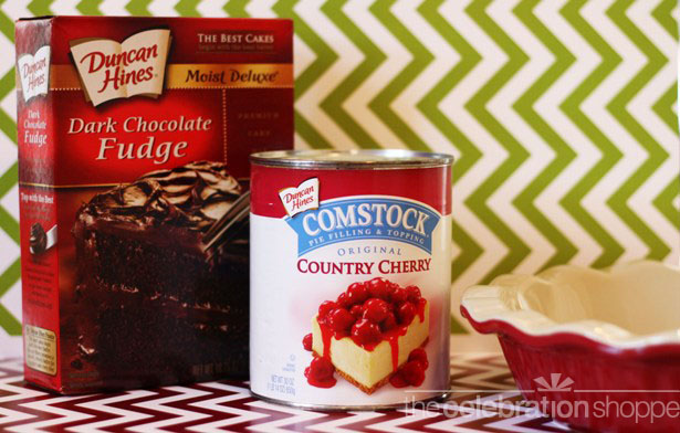 The celebration shoppe cherry cake cobbler ingredients 0629 wl