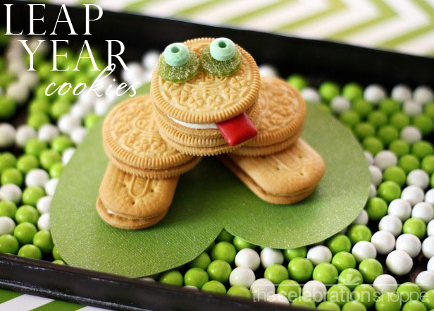 The celebration shoppe leap year frog cookie wtwl