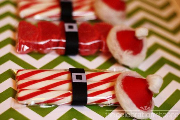 The celebration shoppe santa party favors 3 wl