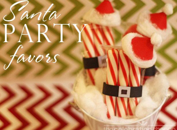 The celebration shoppe santa party favors wl